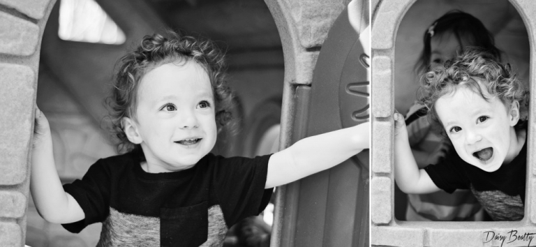 black and white child portraits in NYC