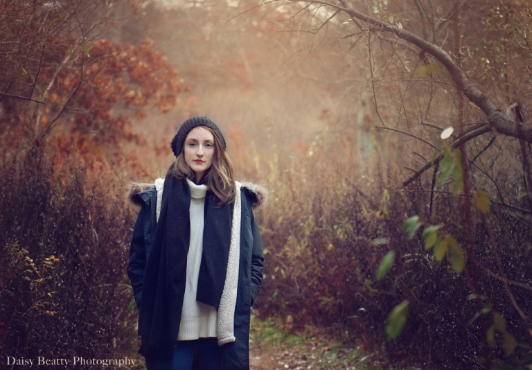 Girl in Springs Dog park by East Hampton photographer Daisy Beatty Photography