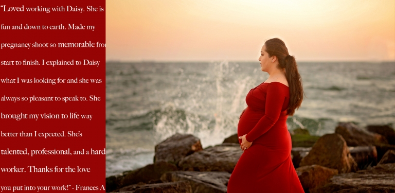 nyc maternity photographer review of daisy beatty photography