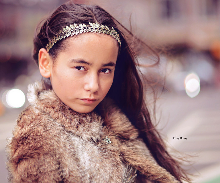 professionally styled child portrait photography in nyc by daisy beatty