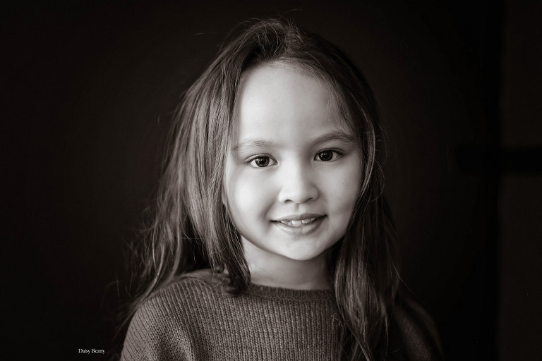 classic black and white studio portraits nyc by daisy beatty photography