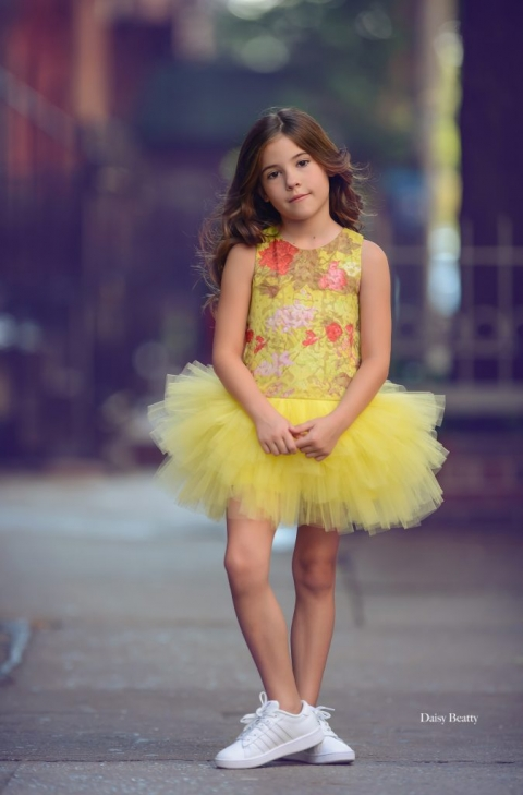 child model portrait in manhattan by family photographer daisy beatty