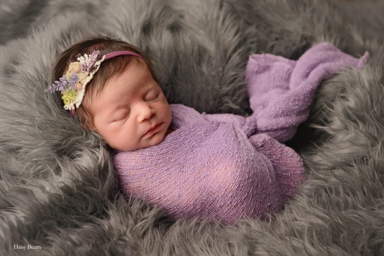 newborn baby portrait by manhattan newborn photographer