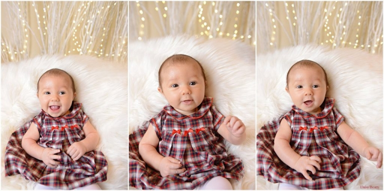holiday mini shoot of a ten week old baby in manhattan by daisy beatty photography