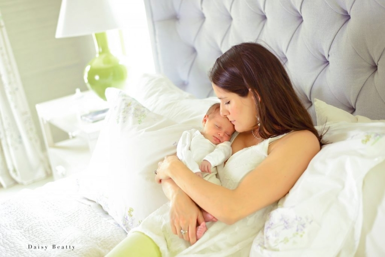 at home newborn photography in greenwich ct by daisy beatty