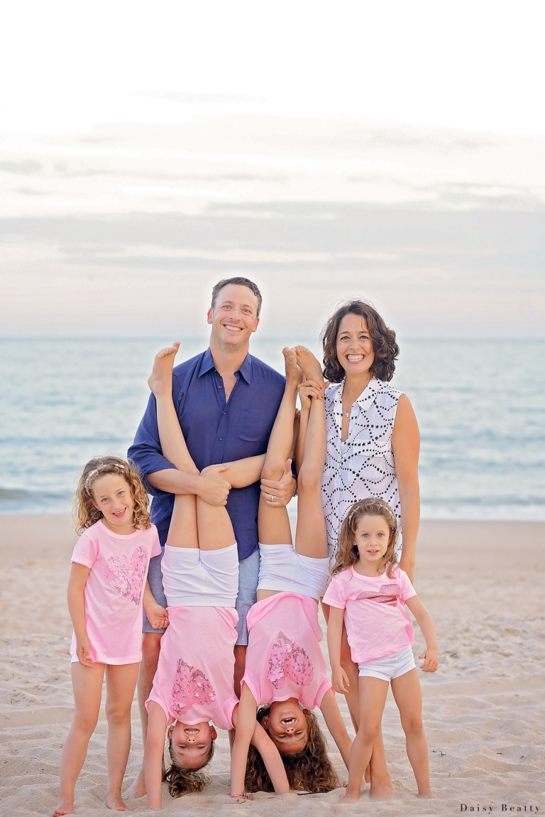 family beach photos in the hamptons by nyc photographer daisy beatty