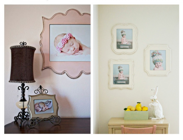 baby shower gift idea frames for nursery from daisy beatty