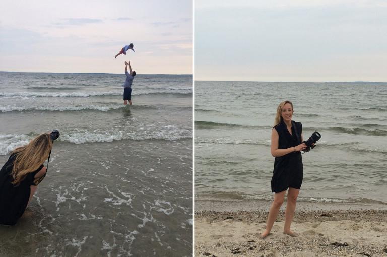 family beach photography tod's point