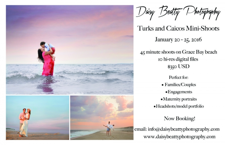 beach portraits in turks and caicos by daisy beatty photography