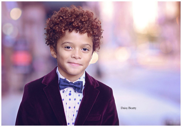 child headshot photography in nyc by daisy beatty
