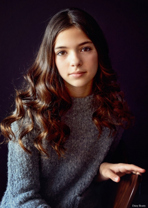 beautiful color child portrait of madison kirk by daisy beatty photography nyc