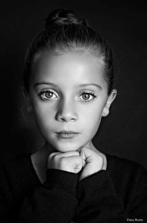 Black And White Portrait Studio