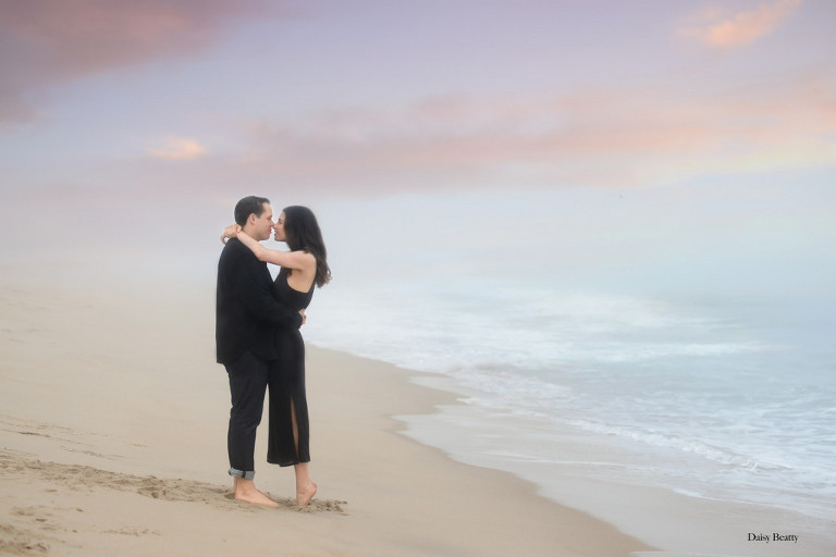Hamptons engagement photographer daisy beatty
