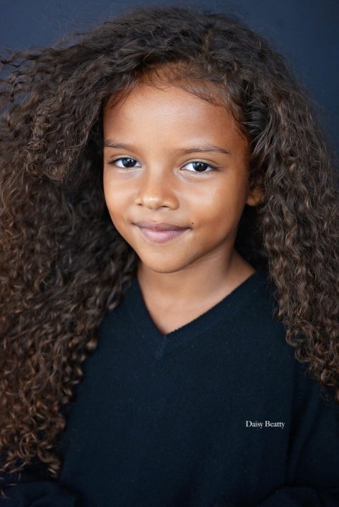 kids headshots in manhattan of keeike