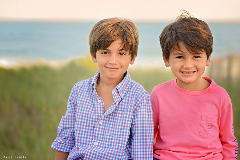 portrait of brothers in greenwich ct by Long Island family photographer daisy beatty