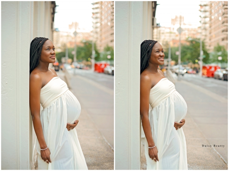 new york city pregnanc photography by daisy beatty