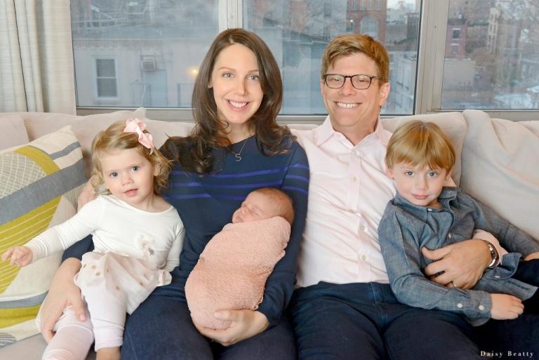 at home newborn photography Manhattan