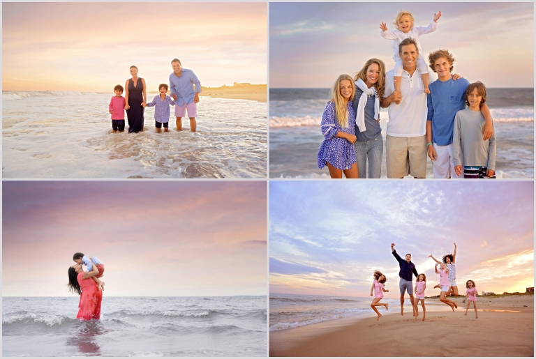family beach photography in the bahamas by daisy beatty