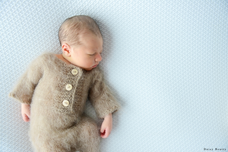 baby photos in a manhattan newborn portrait studio by daisy beatty