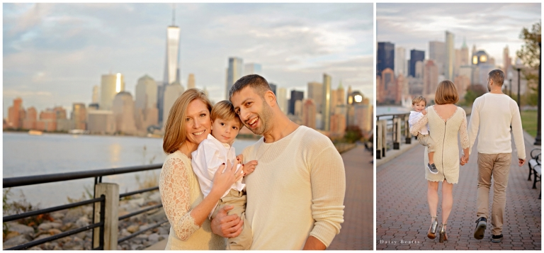 Family session in Jersey City by Hudson County Family Photographer Daisy Beatty.