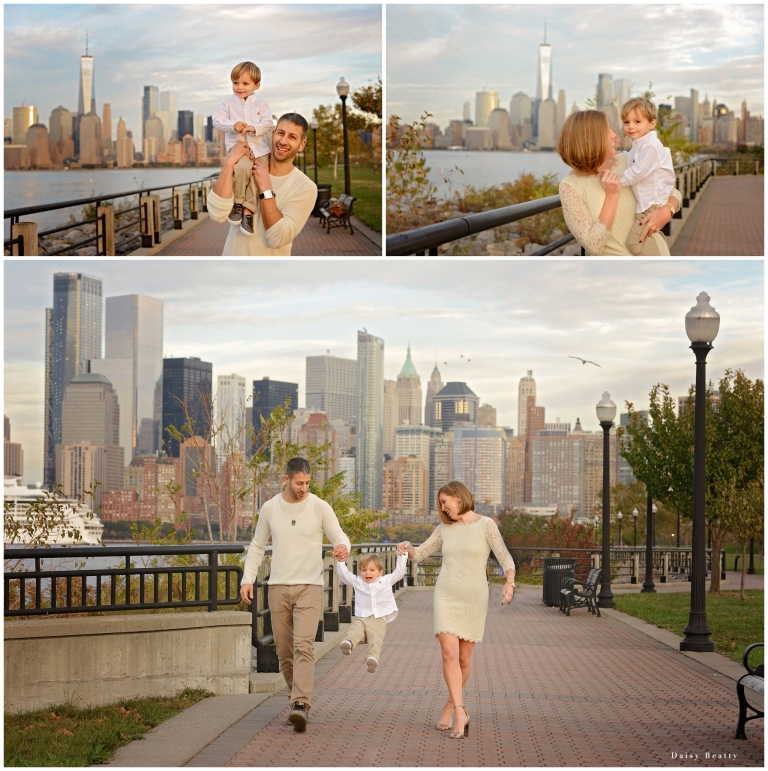 Portrait photographer daisy beatty shoots with family in hoboken.