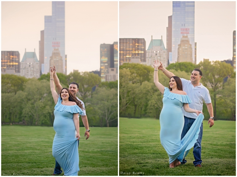 Central Park Maternity Photographer