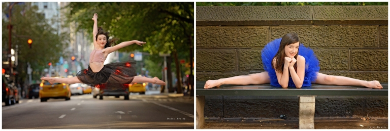 outdoor ballet photography in manhattan by daisy beatty photography