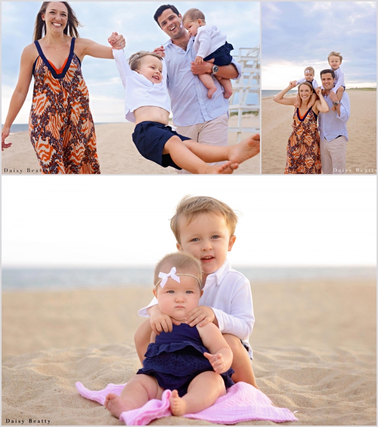family photos in amagansett hamptons by daisy beatty