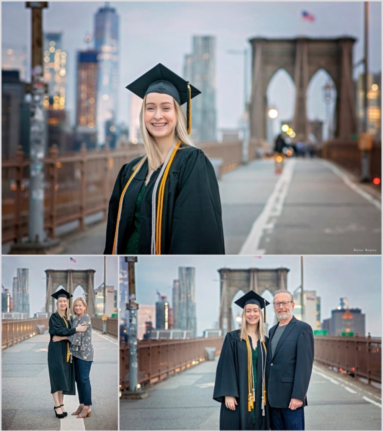 family photography on brooklyn bridge by daisy beatty