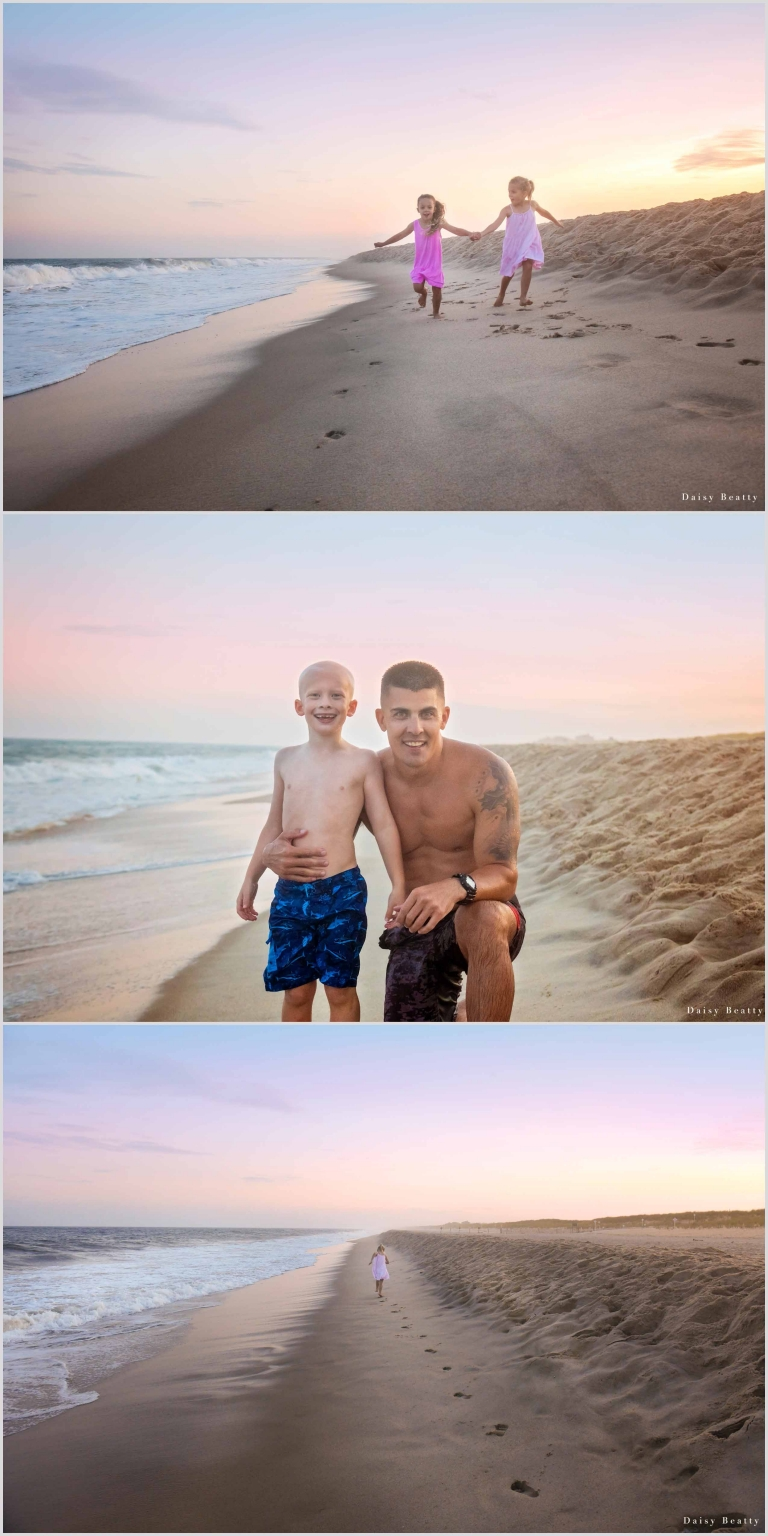 family beach shoots in the hamptons by daisy beatty