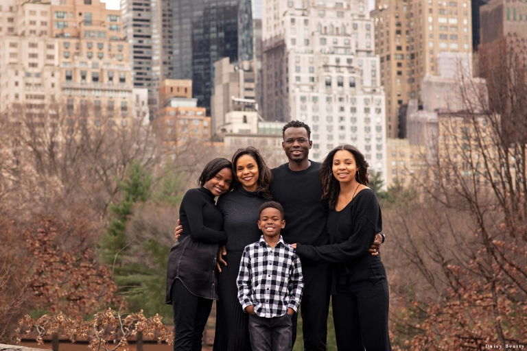 Central Park Family Session in December
