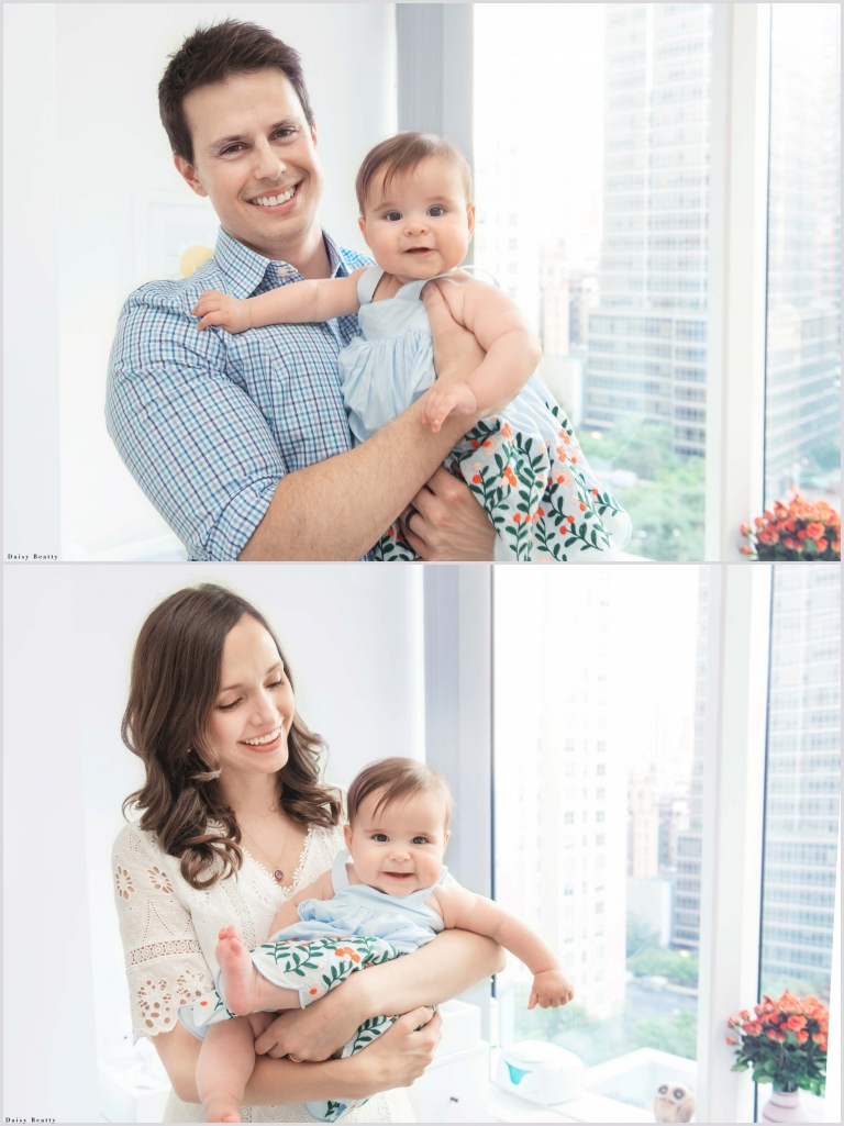 family photos with a baby in nyc